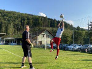 Vorbereitungsspiel: SV Gaflenz unterliegt der 1b der SG Waidhofen unglücklich mit 2 : 4 (1:4)